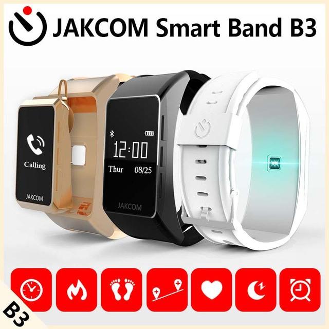 Jakcom b3 banda inteligente nuevo producto de pulseras como pulsómetro reloj del ritmo cardíaco de bluetooth para xiaomi mi banda 2 original