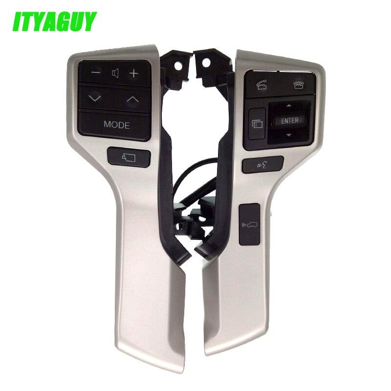 84250-60180 8425060180 steering wheel Switch Control Button Assy For Toyota LAND CRUISER PRADO oem 84250 60160 b0 good quality car steering wheel switch controller for toyota prado