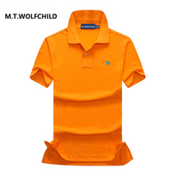 Free Shipping 100 Cotton 2017 Brand Men S Solid Color Lapel Short Sleeve Polos Casual Mens