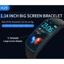 1.14 Big Screen Smart Watch Men IP67 Waterproof Fitness Tracker Heart Rate Blood Pressure Monitor Pedometer Sports Smart Watch цена
