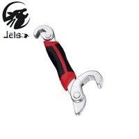 Jelbo 2 Stücke Schraubenschlüssel Set Tragbare Verstellbare Schnelle Schraubenschlüssel Universalschlüssel Kit Schlüssel Kombination Ratsche Kupplung Werkzeuge