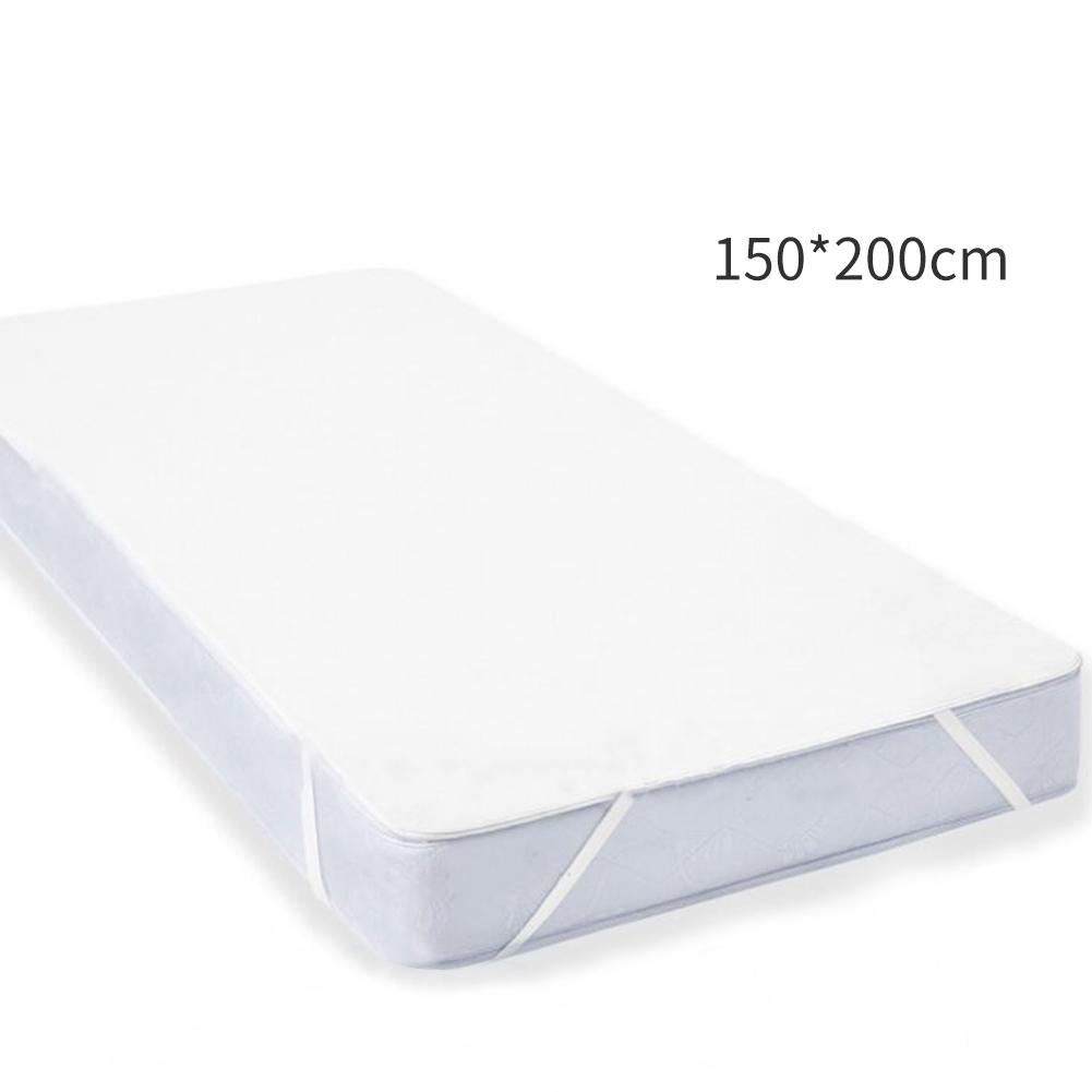 Image 5 - Waterproof Mattress Cover New Four corner Tendon Towel Breathable Mattress Baby Sleep Insulation Pad Home Textile Accessories-in Mattress Covers & Grippers from Home & Garden