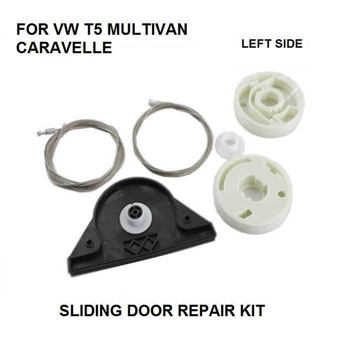 CAR STYLING FOR VW T5 MULTIVAN CARAVELLE ELECTRIC SLIDING DOOR REPAIR KIT LEFT SIDE ONWARDS 2003