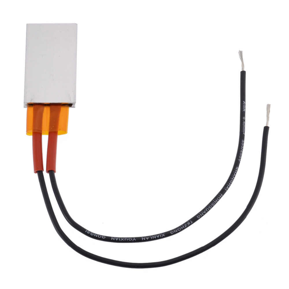 Mayitr 12 В AC DC 50 Вт термостат PTC алюминиевая электрическая нагревательная пластина для волос ценитель изоляция домашние инструменты для улучшения