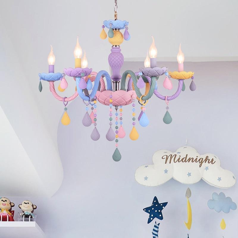 quarto lustre criativo fantasia menina princesa luminária luminárias