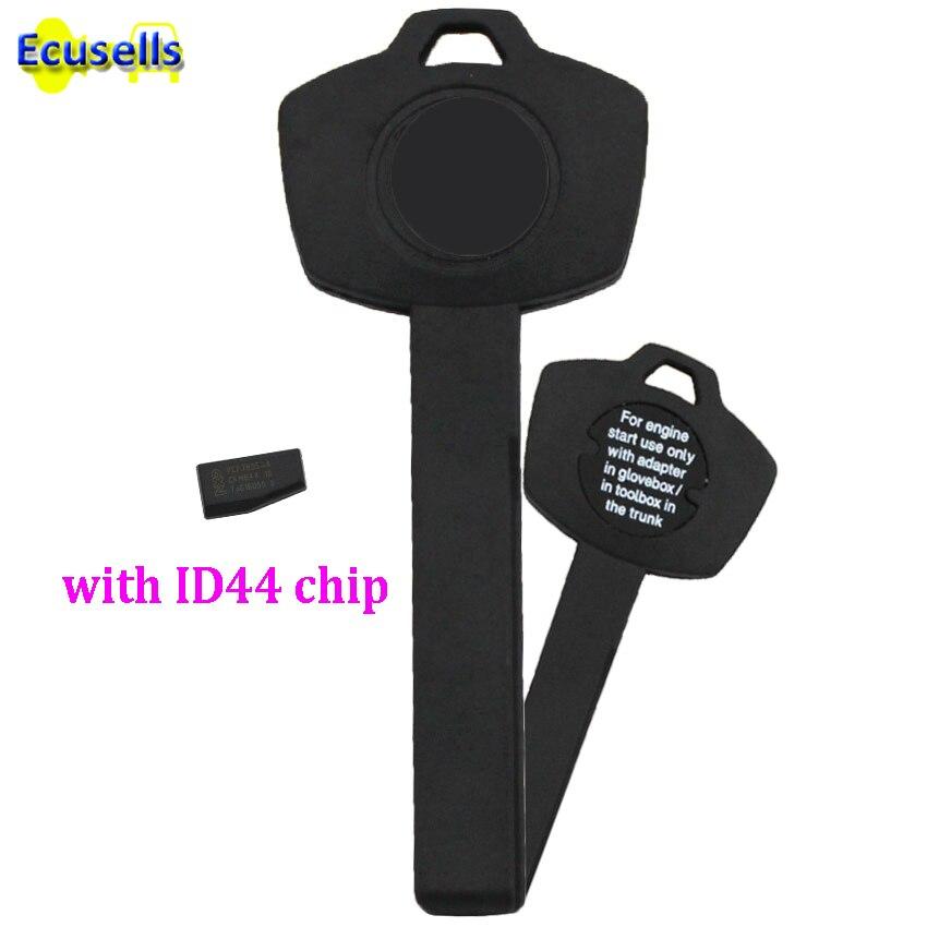 Emergency Wallet Chip Car Key ID44 for BMW Valet Plastic Transponder Immobilizer