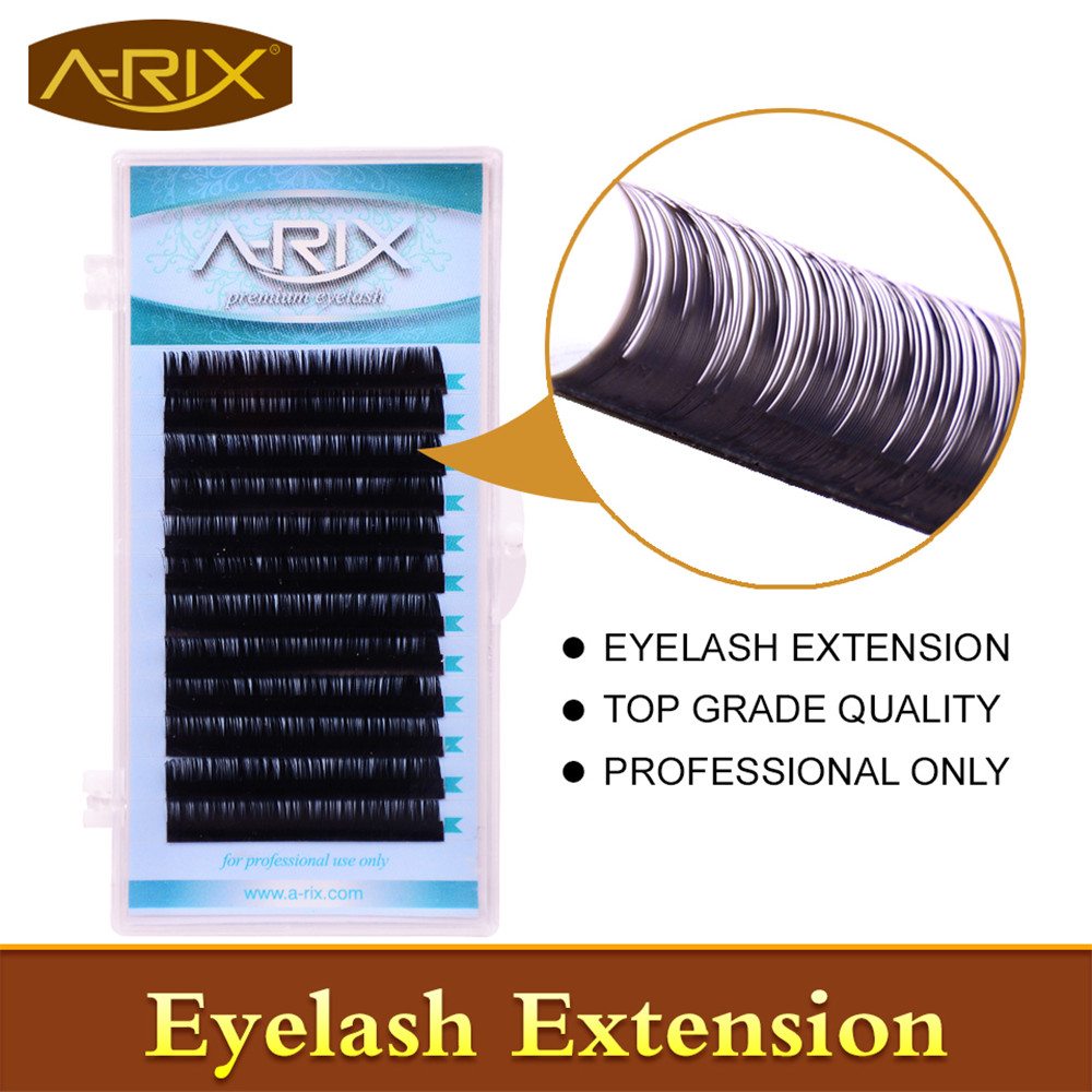 Wholesale 1 pack Eyelash Extension All Size 8-15mm length 0.10 False Mink Hair Individual Silk Lash