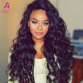 180% Density Brazilian Loose Curly Wave Lace Front Human Hair Wigs 6A Brazilian Full Lace Human Hair Wigs For Black Women