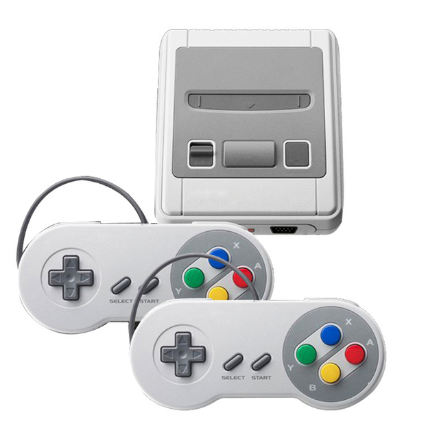 New Super Mini Family TV Video Game Console Retro Classic AV/HD Output TV Handheld Game Player Built-in 400/621 Games
