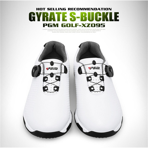 2019 New Arrival PGM Golf Shoes Men Sports Shoes Waterproof Knobs Buckle Breathable Anti-slip Mens Training Sneakers XZ095 Karachi