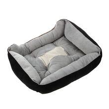 Dog Bed Pad Animal Cartoon Shaped Kennels Lounger Sofa Soft Pet House Dog Bed Mat Big Basket Dog Mattress Pet bed