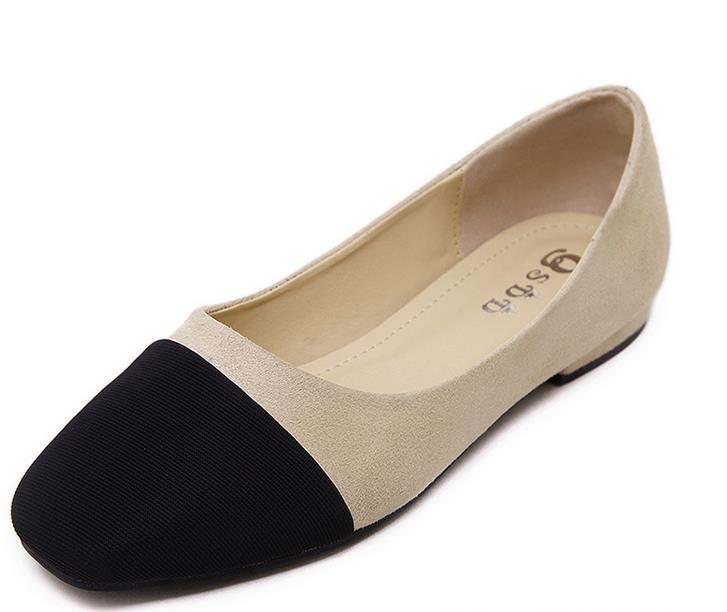 font b Women b font Casual Flat Shoes Summer Spring Autumn Comfortable Nubuck PU Flock