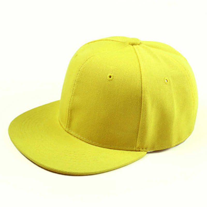 83cac072d7e Detail Feedback Questions about Plain Re entry Hip Hop Baseball Cap Boy  Adjustable Hat Yellow on Aliexpress.com