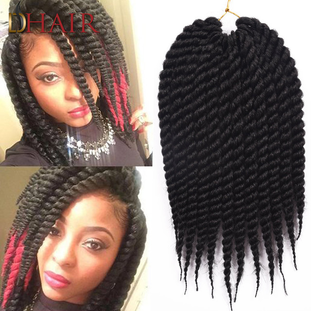 Crochet Hair Styles Prices : Box Braids Crochet Braids Hairstyles 6 Colors Afro Twist Braid Crochet ...