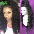 7а доступное полные парики шнурка фронта шнурка человеческих волос парики для черный женщин природных дешевые кружева передние парики kinky вьющиеся человеческих волос парик