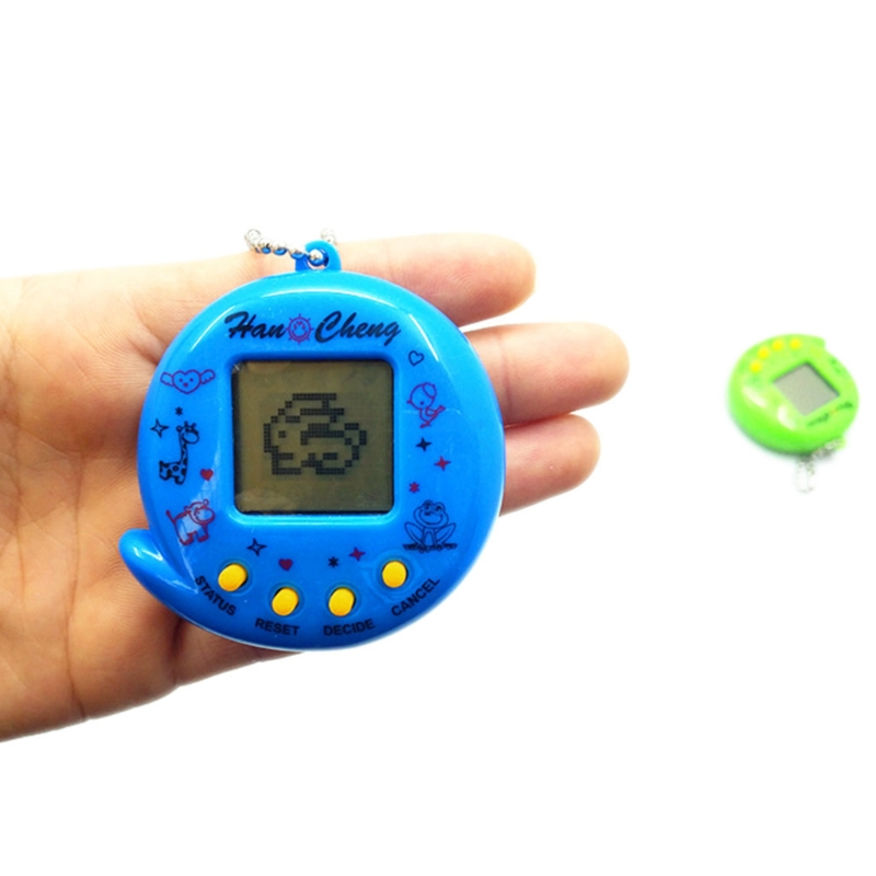 New 90S Nostalgic 168 Pets In 1 Virtual Cyber Pet Toy Tamagotchis Electronic Pet Y51E
