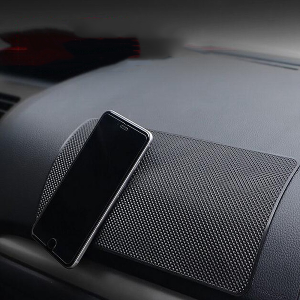 Anti-slip Mat Fast Deliver Car Ornament Soft Silicone Phone Holder Mat Pad Desk Non-slip Holder Stand Bracket Automobiles Dashboard Anti Slip Cushion Gifts
