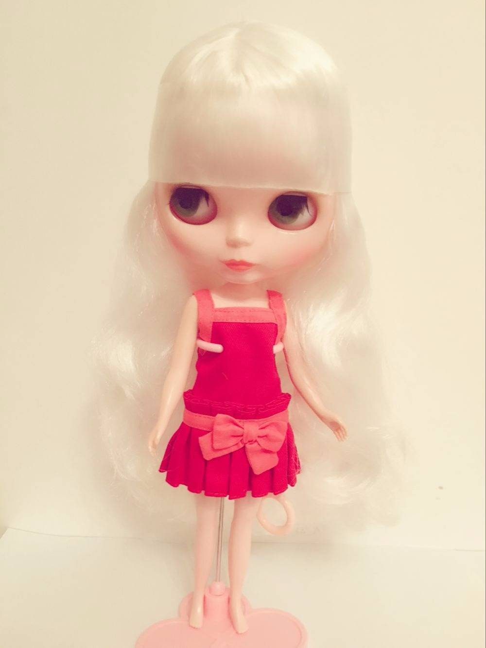Toys & Hobbies Free Shipping Top Discount 4 Colors Big Eyes Diy Nude Blyth Doll Item No 18 Doll Limited Gift Special Price Cheap Offer Toy