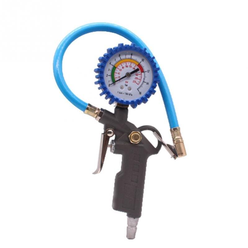 Car Auto Digital Tire Pressure Gauge Meter Tire Air Inflator Tool 220PSI 12