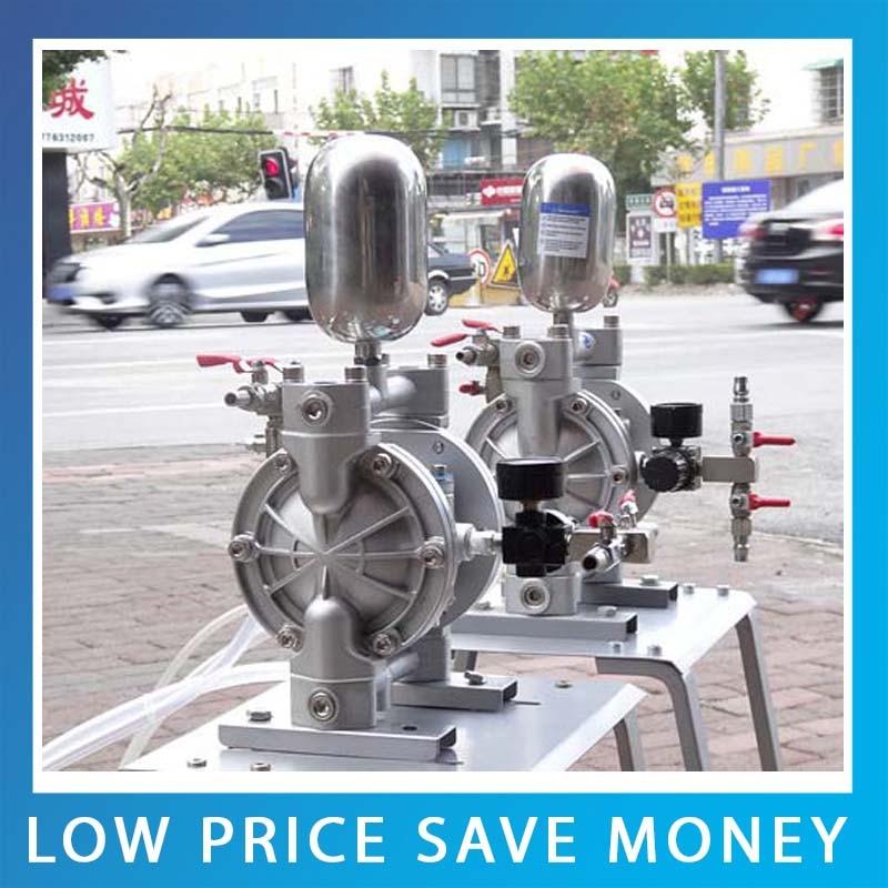 Double Suction Diaphragm Pump / Carton Printing Ink Pump / Two-Way Pneumatic Diaphragm Pumps qby 15 corrosion resistant double way pneumatic diaphragm pump 0 1m3 h