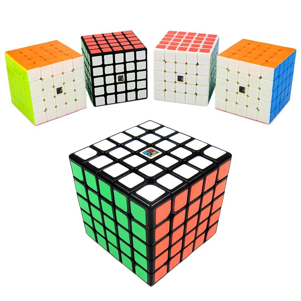 MoYu's MF5S Professional Magic Cubes 5x5x5 Speed Puzzle Cube Toy 5*5*5 on 5 Layers 6.4CM Mofangjiaoshi Classroom Cubing