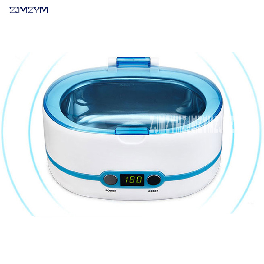 Ultrasonic cleaning machine household cleaning glasses cleaning machine jewelry watch cleaner 220v 750ml ultrasonic cleaner ce 5200a 42000hz 50w household washing and cleaning device jewelry watch and glasses
