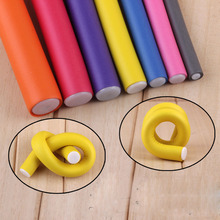 10pcs Magic Hair Curling Curler Roller Soft Foam Bendy DIY Styling Tool Stick Curls Spiral Curlers