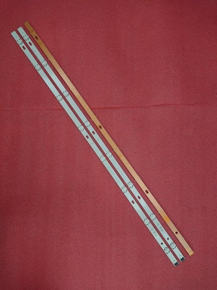 (New Kit )3 PCS 8LED 850mm LED backlight strip for LG HC430DGN-SLNX1 43UF6400 43UF640V 43UF6407 43UH610V 43UH619V 43UH603V(New Kit )3 PCS 8LED 850mm LED backlight strip for LG HC430DGN-SLNX1 43UF6400 43UF640V 43UF6407 43UH610V 43UH619V 43UH603V
