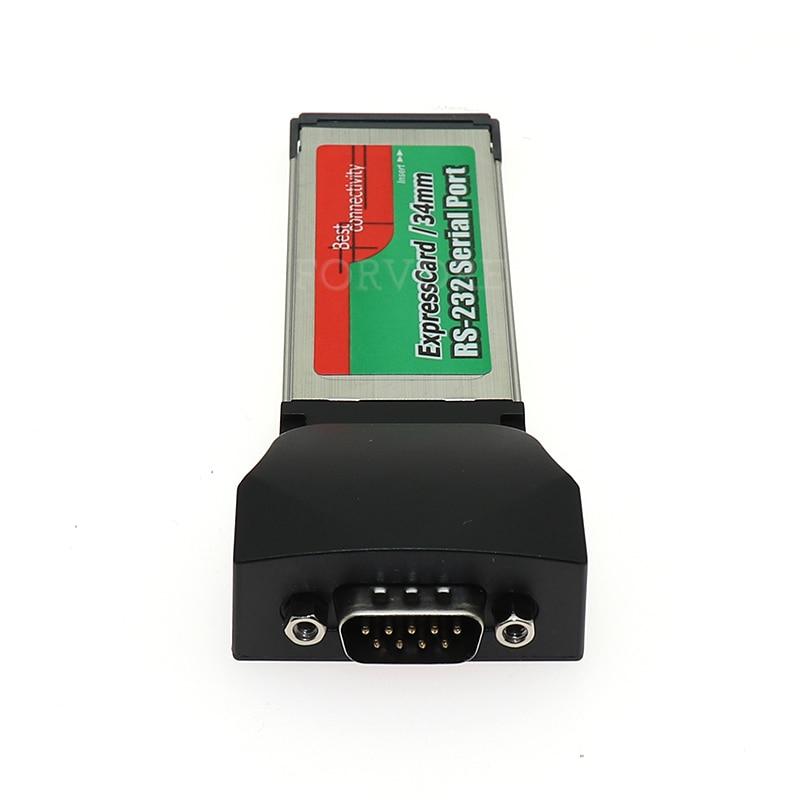 PCMCIA to RS232 Serial I//O DB9 USB Port Cardbus Card Converter for Notebook Tren