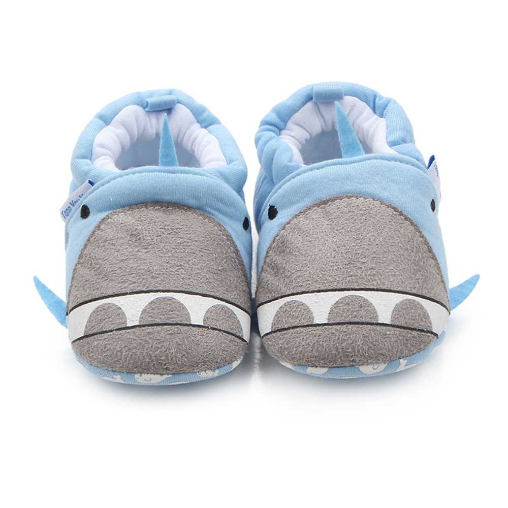 Newborn Crib Shoes Baby Girls Shoes Cartoon Slip On Loafers Newborn Crib Shoes Infant Toddler Boys Slipper Unisex Casual Prewalker Fashion Footwear