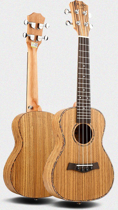 23 4 Strings Ukulele Zebra Wood Concert Mini Acoustic Uke Musical Instruments Professional Handcraft Hawaii Small Guitar niko black 21 23 26 ukulele bag silver edge nylon soprano concert tenor soft case gig bag 5mm thick sponge