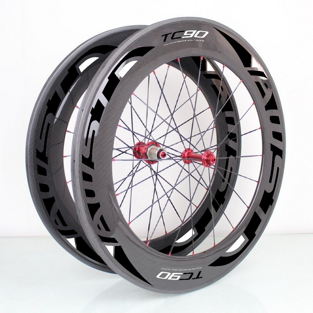 full Carbon fiber wheels 88mm clincher ,Powerway R13 hub,88mm carbon Wheels 700c rims road bike wheelset Free shipping