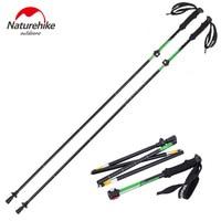 Brand High Quality Outdoor Ultra Light EVA Handle 5 Section Adjustable Sticks Canes Walking Sticks
