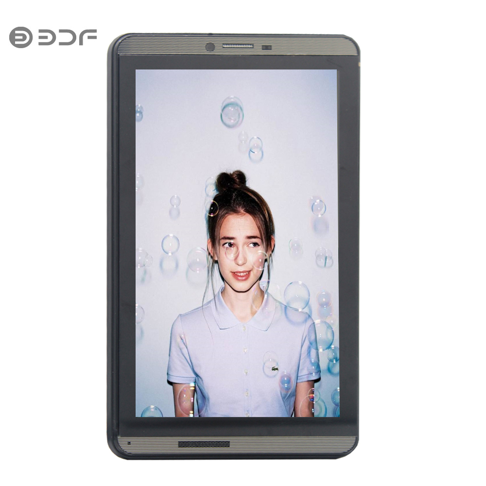 BDF Tablet 7 Inch 3G Phone Call Tablets Pc Android 6.0 16GB ROM 1024*600 Screen Android 6.0 Tablets Pc Quad Core Dual SIM