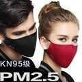 NUEVO LLEGA 100% Algodón Boca Máscara Anti-Polvo Mascarilla Quirúrgica Paño Respirador con filtro de Tela 2 unidades