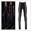 Top Quality New Style Ladies HL Bandage Pants Sexy Bodycon Pencil Pants High Quality