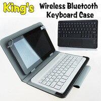 Беспроводной кожаный чехол с клавиатурой Bluetooth для Samsung GALAXY Tab S2 9 7 дюйма  T810 T815  3 бесплатных подарка