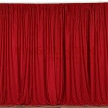 Красочные панели полиэстер Свадебный фон занавеска бесшовный сценический фон Вечерние Декорации для мероприятий