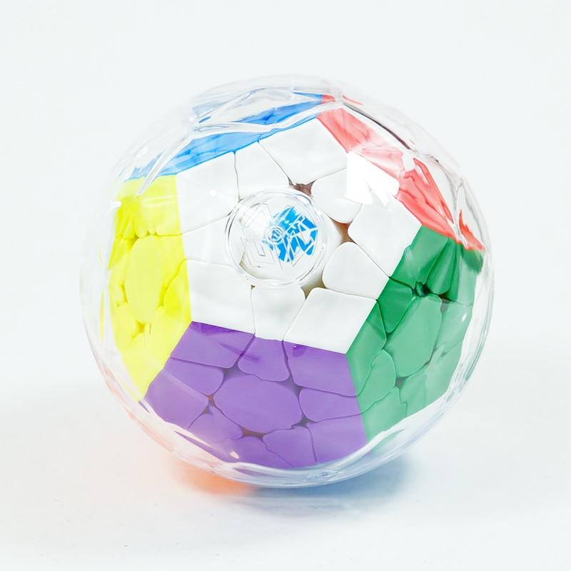 Gan 3x3 Megaminxeds Magic Cube Stickerless Speed Professional 12 ด้านปริศนา Cubo Magico ของเล่นเพื่อการศึกษาเด็ก-ใน ลูกบาศก์มหัศจรรย์ จาก ของเล่นและงานอดิเรก บน   3