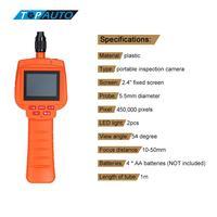 KKmoon 5 5mm Head Inspection Camera 2 4inch Endoscope DVR Video Recorder Waterproof TF USB Port