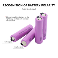 1/2/4/6/8/10 Pieces 3.7 V Volt 2600mAh ICR18650-26F 2 Tabs Design ICR18650 Lithium Li-ion Battery High Drain 20A 18650 Batteries 2