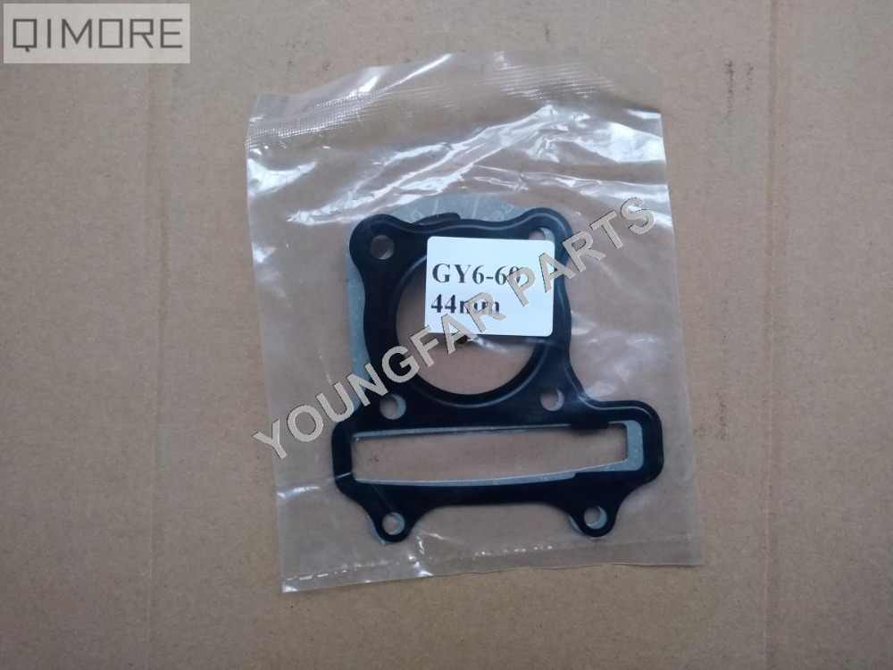 44mm head Gasket & base gasket for 4 stroke 60cc Scooter Moped ATV QUAD 139QMB GY6-60 GY6 60