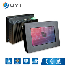 Embedded pc 7 inch 4GB SSD 32G DDR3 4usb/rs232 touch screen 800×480 industrial pc mini pc with Atom N2800 1.6GHz