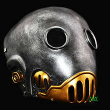 Halloween The Clockwork Man Horror Masks Hellboy Movie Masquerade Kroenen Full Face Helmet Resin Mask Adult Size Cosplay Prop