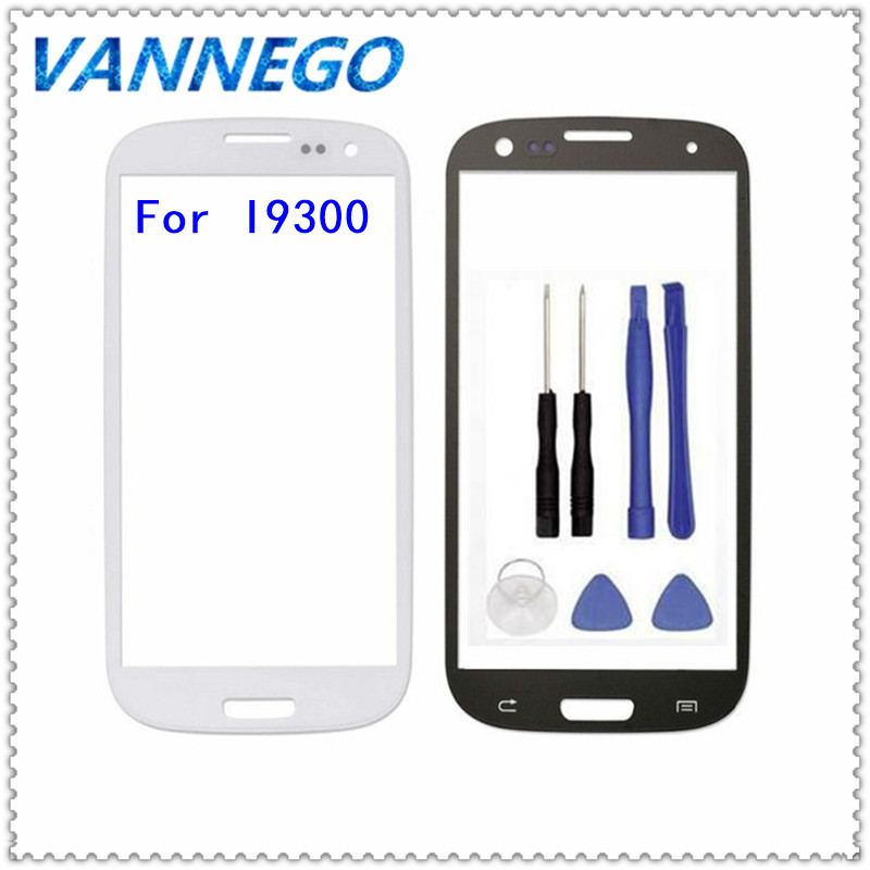 Vannego Touch Screen For Samsung Galaxy S3 I9300 Replacement Parts LCD Front Digitizer Touch Screen Lens Outer Glass