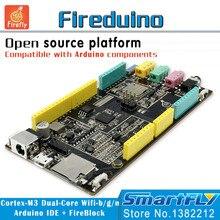 Fireduino PC Combinar educación TALLO cero programa Gráfico IOT placa de desarrollo pcduino módulo wifi ARM Cortex M3 demo