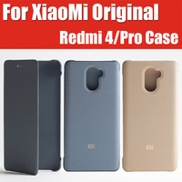 5 2 5D Snapdragon 430 625 Redmi 4 Pro Leather Flip Cover 100 Original Mi Brand