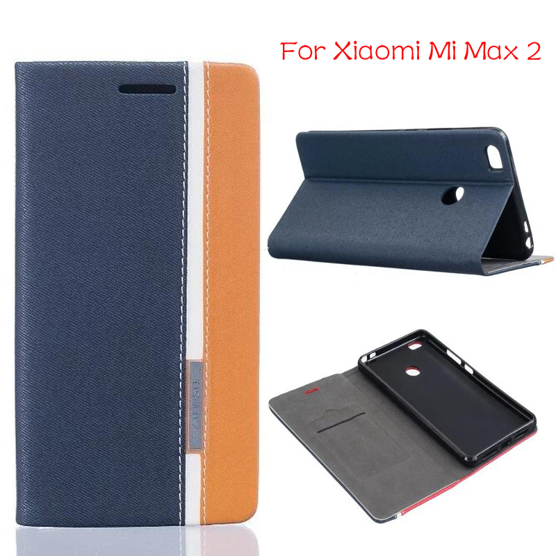 DIYABEI For Xiaomi MAX 2 6.44 Luxury Wallet Leather Case Stand Flip Card Hold Phone Cover Bags For Xiaomi MAX 2 phone case
