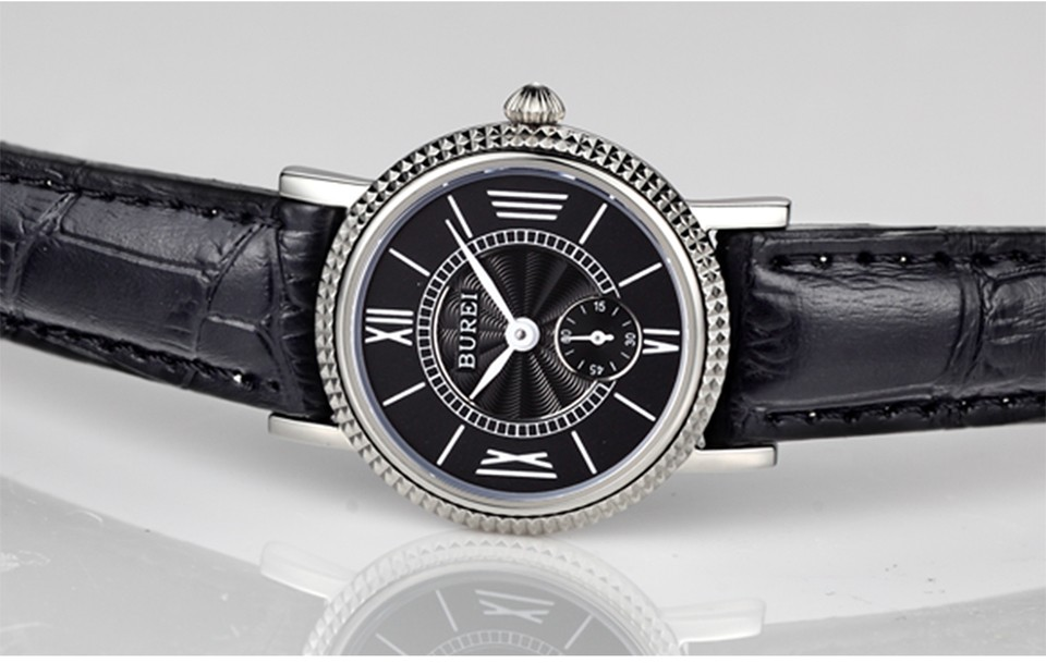 casal amante casual relógio de pulso quartzo