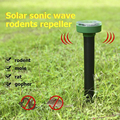 Ультразвуковой Отпугиватель змеиной мыши на солнечной энергии  борьба с вредителями для сада  уличного двора  фермы  поставка продуктов